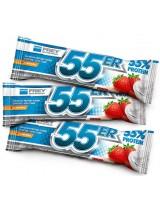 55er Baltyminis šokoladukas - Braškinis jogurtas