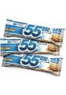55er Baltyminis šokoladukas - Sausainių / Grietinėlės