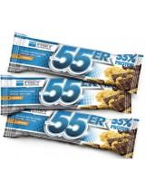 55er Baltyminis šokoladukas - Šokoladinis